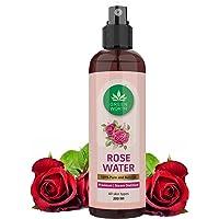 GREENWORTH® Pure & Natural Rose Water/Skin Toner Mist Spray - 200ml - Steam Distilled - Gulab Jal - Alcohol & Chemical…