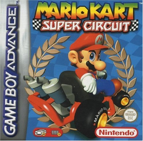 Mario Kart - Super Circuit (Super Mario Bros Game Boy Color)