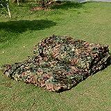 Rete in tessuto mimetico per la caccia, per campeggio, come riparo dal sole, per la casa o attività all'aperto, 2x3m / 6.6x10 ft