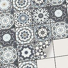 Bodenfliesen Aufkleber Fliesenfolie Klebefliesen Swedish Tiles