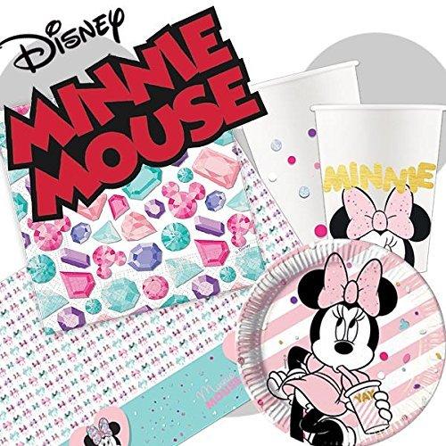 Minnie Maus Party Edelstein Party Paket für 24