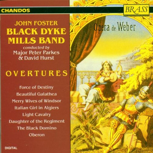 Black Dyke Mills Band Play Overtures Test