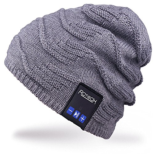 Outdoor Bluetooth Beanie Hat – Bluetooth Stereo Speaker Headphones