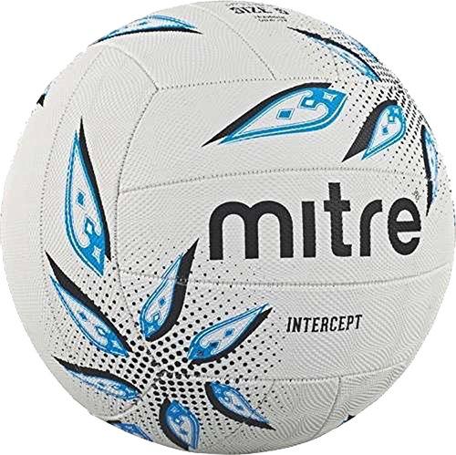 Mitre extérieur Jeu de Match de Intercept classique Netball Taille 5