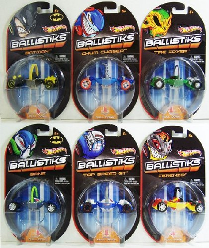Hot Wheels Ballistiks Vehicle Set (Colors/Styles Vary)