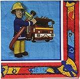 Amscan International-Papierservietten, 33cm, Feuerwehrmann Sam