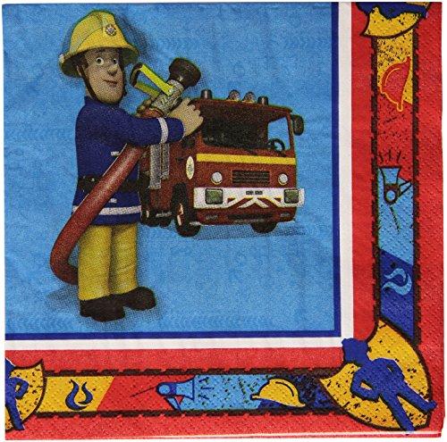 -Papierservietten, 33cm, Feuerwehrmann Sam (Feuerwehrmann Sam Halloween Special)