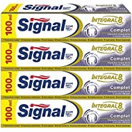 Signal Integral 8 Complet Dentifrice 100 ml - Lot de 4