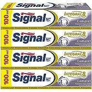 Signal Integral 8 Complet Dentifrice 100 ml - Lot de 4