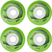 Hyper Concrete componente Plus G Limited Edition Spartan Ruote per pattini 80mm/84A, Pattini in linea Sport & tempo libero, 4Pack, Rollen für Inlineskates Concrete G Limited Edition, Verde / bianco, 80