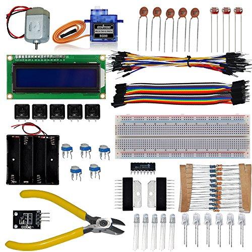 KOOKYE Ultimate Starter Anfänger Learning Kit für Raspberry Pi 2 3 Arduino UNO Mega2560