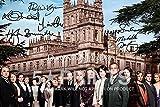 Downton Abbey Foto 30.48 x 20.32 cm Poster, signiert von Hugh aus 6 Bonneville, Laura Carmichael, Michelle Dockery Phyll