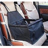 Hysung trasportini/sedile auto per animali domestici, portatile, impermeabile, pieghevole, per cuccioli di cane, gatto, coniglio, da viaggio, con tasca portaoggetti con cerniera