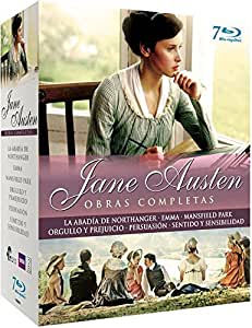 The Jane Austen complete BBC Collection : Pride and Prejudice / Sense and Sensibility / Mansfield Park / Northanger Abbey / Emma / Persuasion [Blu-ray] [UK Region Spanish Import]