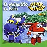 Super Wings. El Elefantito Se Baña