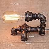 YU-K Kreatives Tabellenlampenschlafzimmerlampen-Restaurantcafé der Retro- Lampen die Hotelindustrie feng shui Rohrlampen