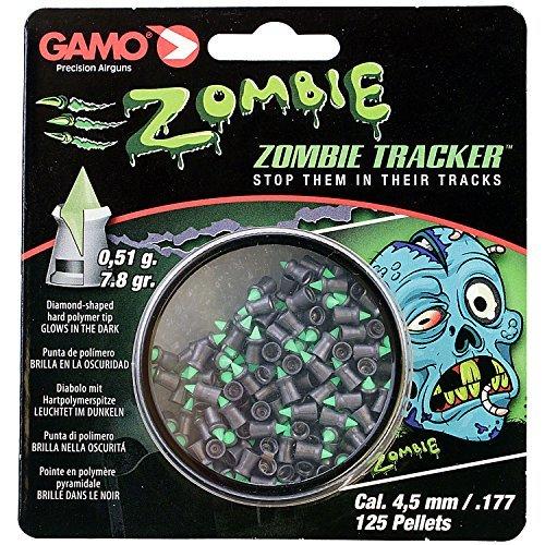 Gamo ZOMBIE APOCALYPSE 4,5mm 177 pellets, leuchtet im dunkeln Dose mit 125 Pellets 7.8 gramm