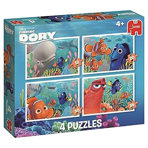 Disney Pixar – Le Monde de Dory – 4 Puzzles en 1 – 12, 20, 30 et 36 Pièces