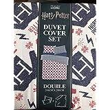 Primark Harry Potter diseño de Navidad Estilo Doble Juego de Funda nórdica con Funda ...