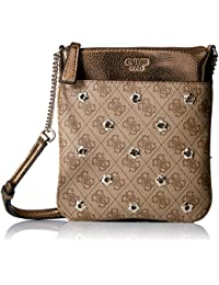 GUESS Sibyl Logo Mini Crossbody Top Zip 55dbf70b272b4