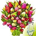 Tulpen im Bund mit Vase von FloraPrima auf Du und dein Garten