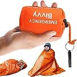 Idefair Nödsovsäck med överlevnadsvisselpipa vattentät lätt överlevnad utrustning filtväskor med överlevnad visselpipa för va