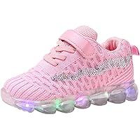 Baby Kinderschuhe LED Mädchen Jungen, Licht Turnschuhe Leuchtend Blinkschuhe Sportschuhe, 22EU-29EU 1-6 Jahre