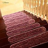 pad CAICOLORFUL Chemische Faser Rutschfester Verschleiß Haustreppen Teppich Osmanen Wasser Schlafzimmer Schrittmatte Holzleiter Fuß Innen Teppich (Farbe : 1)