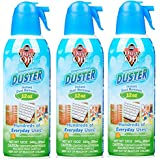 Falcon Dust-Off Professional Electronics Compressed Air Duster, 12 Oz (3 Pack)