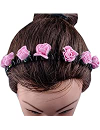 New Different Style Hair Accessories / Hair Band / Head Bands For Kids, Girls & Women (ZigZag Bands,BabyPink)