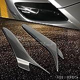 Pour Mazda RX-8RX8paupière Phare sourcils 2004–2008A Style Carbon Fibe