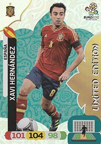 Panini Adrenalyn XL EURO EM 2012 – Xavi Hernandez- LIMITED EDITION