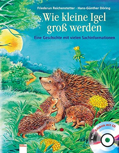 Wie kleine Igel groß werden: Eine Geschichte mit vielen Sachinformationen (Für Igel Kinder)