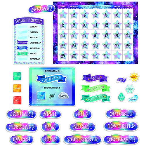 Creative Teaching Press Mystischer magischer Kalender Set Bulletin Board CTP 8593