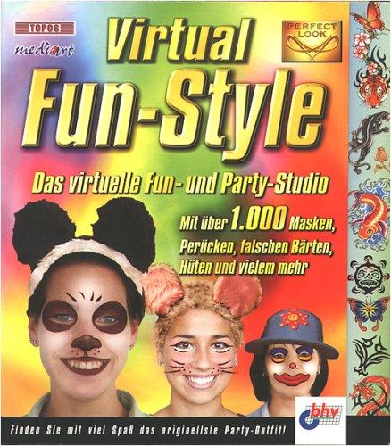 Virtual Fun-Style, 1 CD-ROM Das virtuelle Fun- und Party-Studio. Für Windows 95/98/NT/2000/Me. Mit über 1.000 Masken, Perücken, falschen Bärten, Hüten und vielem mehr