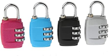 SMM Numeric 3 Digit Luggage Lock (Pack of One)(Color Vary).