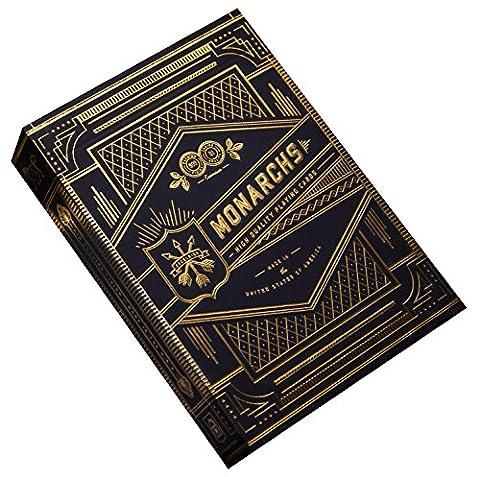 Monarch Jeu de cartes (Bleu)