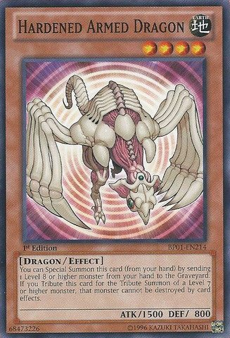 Yu-Gi-Oh! - Hardened Armed Dragon (BP01-EN214) - Battle Pack: Epic Dawn - Unlimited Edition - Common by Yu-Gi-Oh! (Epic Battle Dragon)