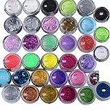 35 Colors Metallic Shimmer Eye Shadow Highlighting Face Powder Shimmer Metallic Eyeshadow Makeup Eyeshadow Make-up Powder