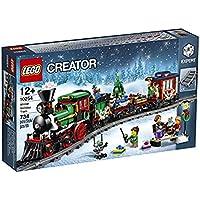 LEGO Creator Winter Holiday Train 734pieza(s) juego de construcción - juegos de construcción (Multicolor, 12 año(s), 734 pieza(s), 52 cm, 7 cm, 12 cm)