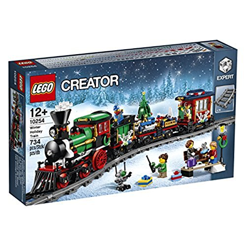 Lego Train de Noël Festif Creator 10254 en Jouet