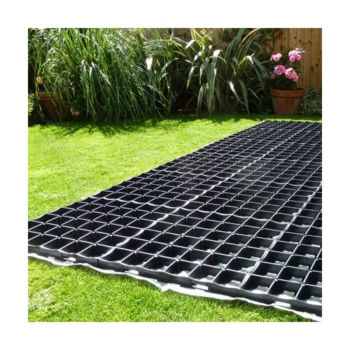 6191ZspIAQL. SS500  - GARDEN SHED BASE 7ft x 5ft SYSTEM- 15 PROBASE GRIDS (Plastic)