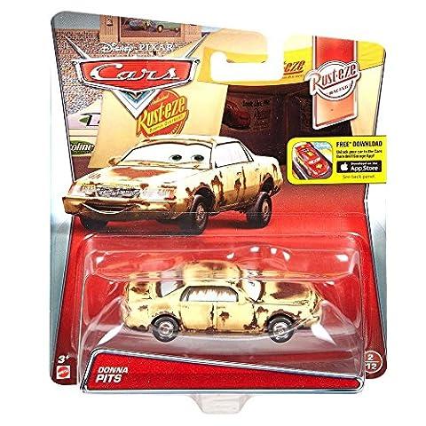 Disney Cars Cast 1:55 - Auto Fahrzeuge Modelle Sort.3 zur Auswahl, Typ:Donna Pits (Diecast Pit)