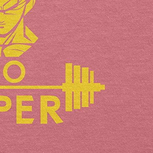 Texlab–No Pain No Super–sacchetto di stoffa Pink