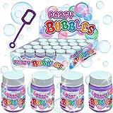 German Trendseller® - 6 x bulles de savon dans le biberon┃ bulles pour la fête des enfants┃petit cadeau┃ l'anniversaire d'enfant ┃Party Bubbles
