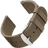 Archer Watch Straps | Repuesto de Correa de Reloj de Nailon para Hombre y Mujer, Correa Fácil de Abrochar para Relojes y Smar