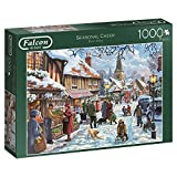 Jumbo Spiele 11191 Falcon Seasonal Cheer-1000 Teile