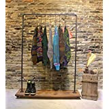 wgx ropa accesorio de ropa barra con ruedas Tubo rack