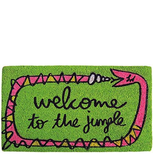 Laroom Felpudo diseño Welcome To The Jungle