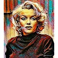 """Aluminium metal wall art """"Marilyn Monroe"""""""